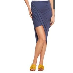 (NWT) 1. State / REVOLVE Asymmetric Wrap Skirt